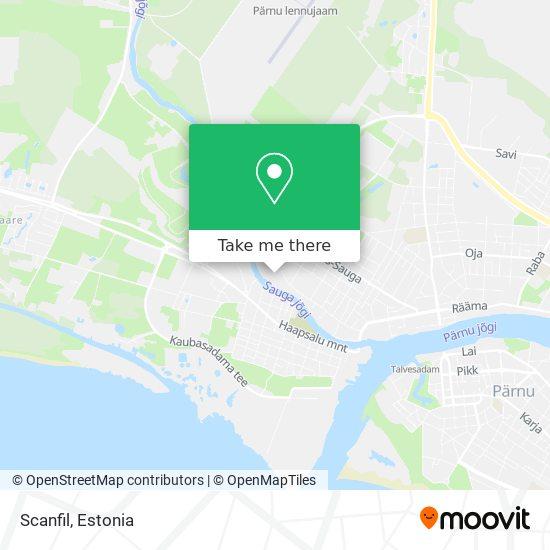 Scanfil map