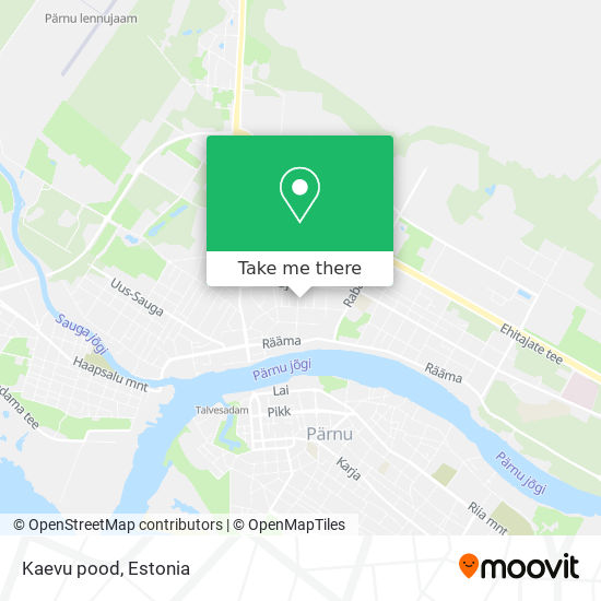 Kaevu pood map