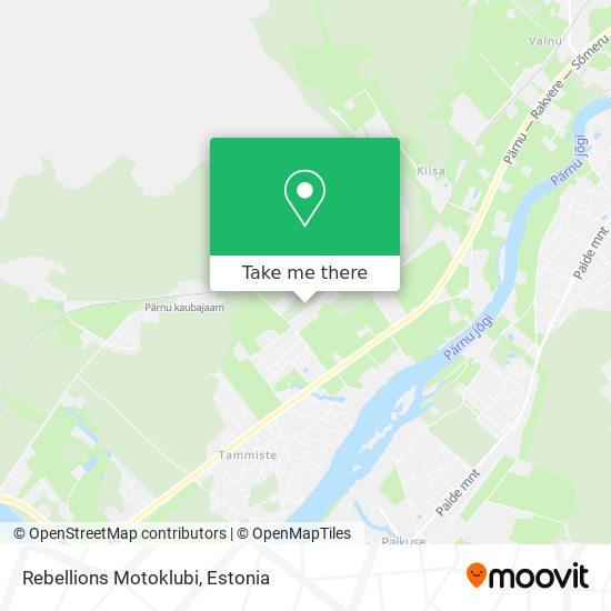Rebellions Motoklubi map