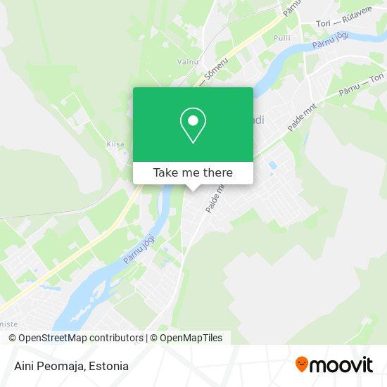 Aini Peomaja map