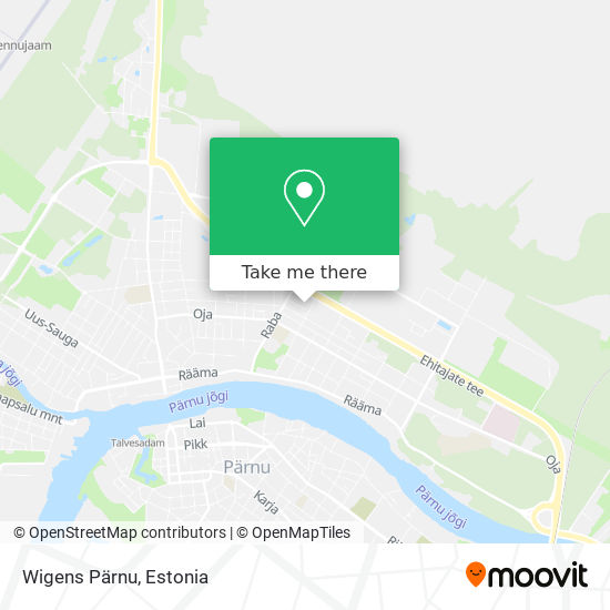 Wigens Pärnu map