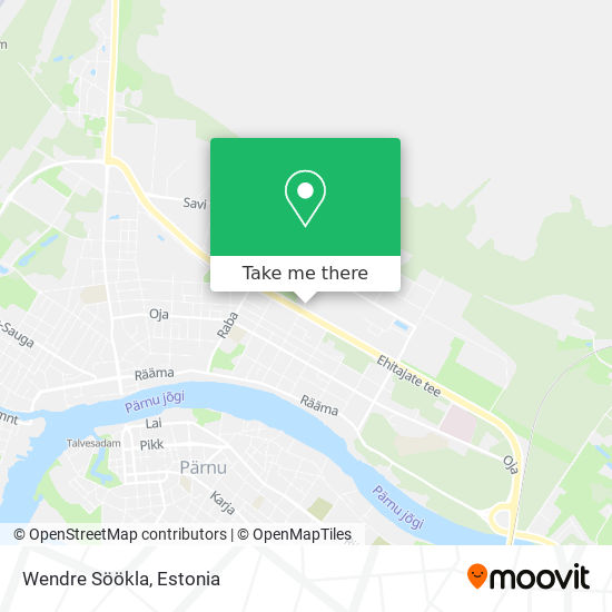 Wendre Söökla map