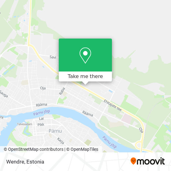 Wendre map