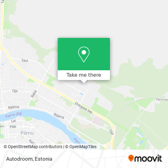 Autodroom map