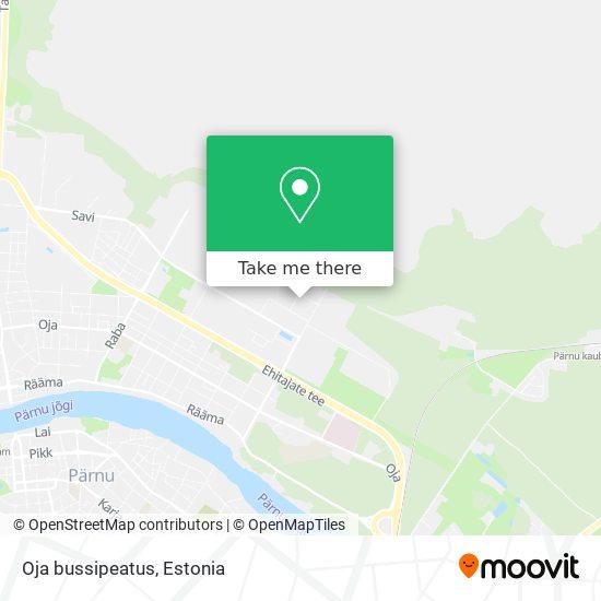 Oja bussipeatus map