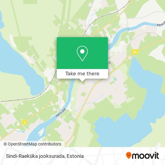 Sindi-Raeküka jooksurada map