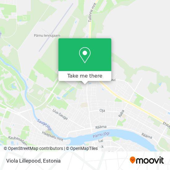 Viola Lillepood map