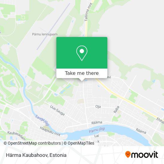 Härma Kaubahoov map
