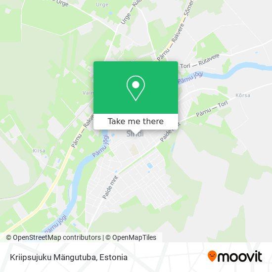 Kriipsujuku Mängutuba map