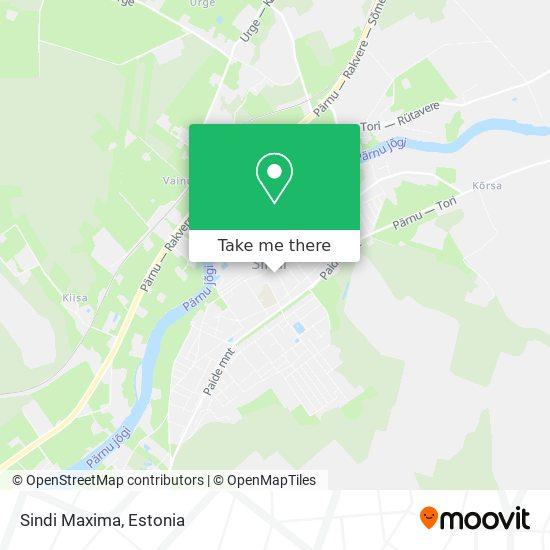Sindi Maxima map