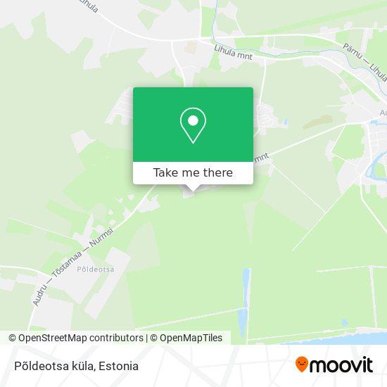 Põldeotsa küla map