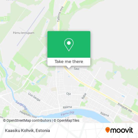 Kaasiku Kohvik map