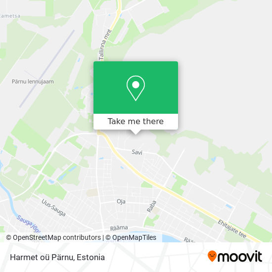 Harmet oü Pärnu map