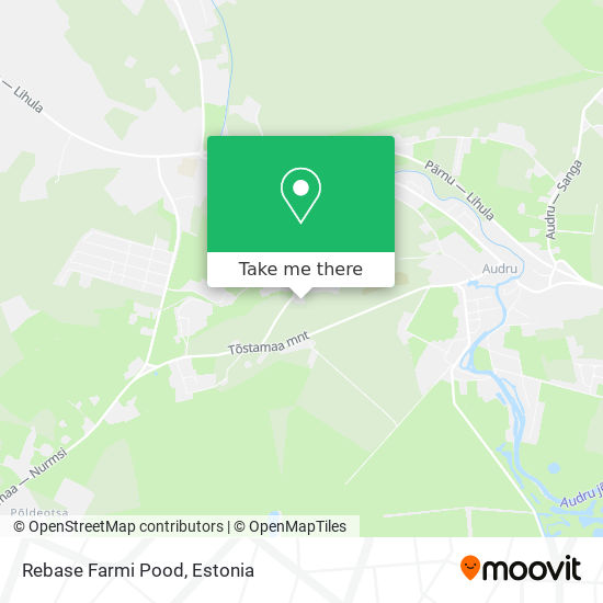 Rebase Farmi Pood map