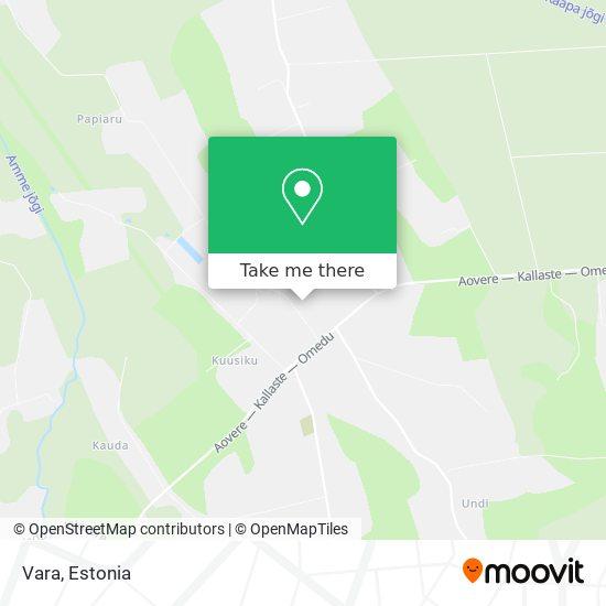 Vara map