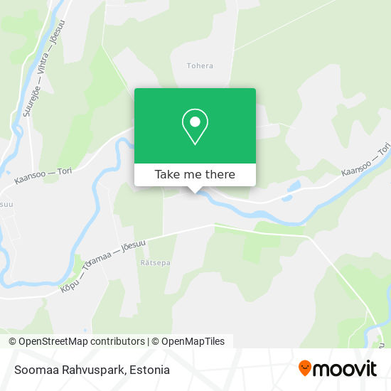 Soomaa Rahvuspark map