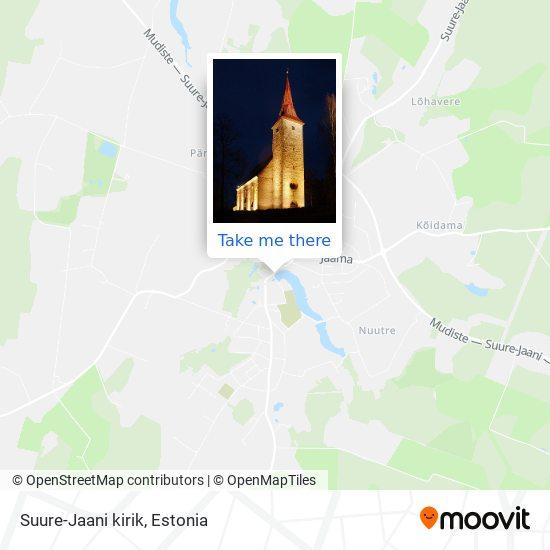 Suure-Jaani kirik map