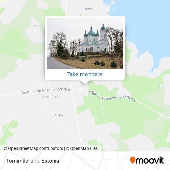 Tornimäe kirik map