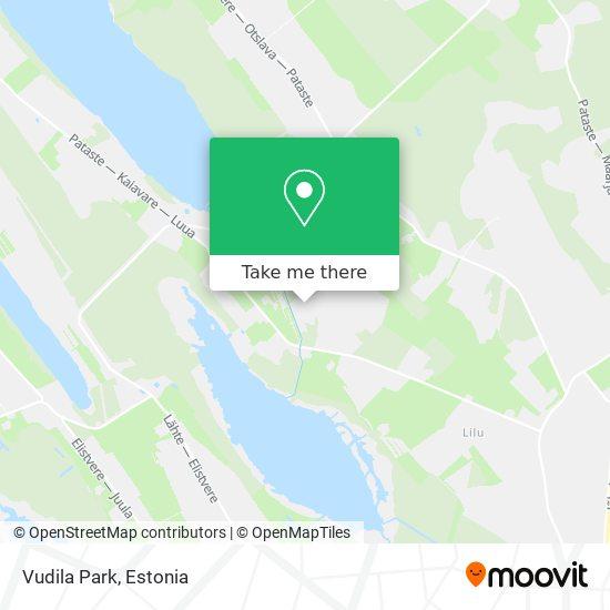 Vudila Park map