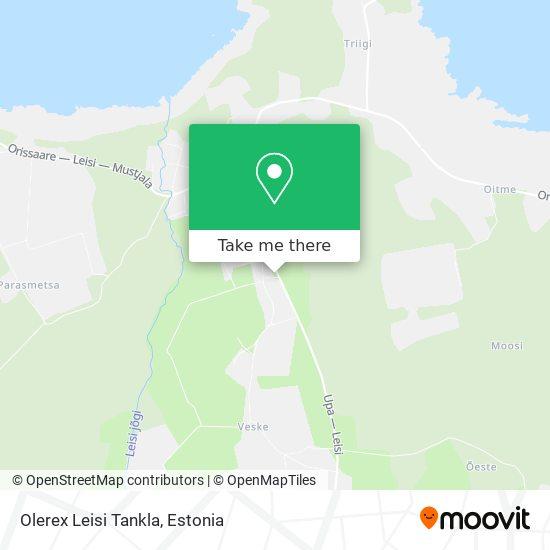 Карта Olerex Leisi Tankla