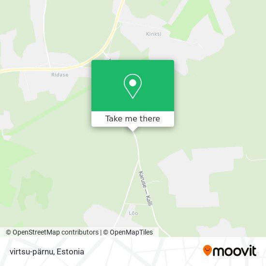 Карта virtsu-pärnu