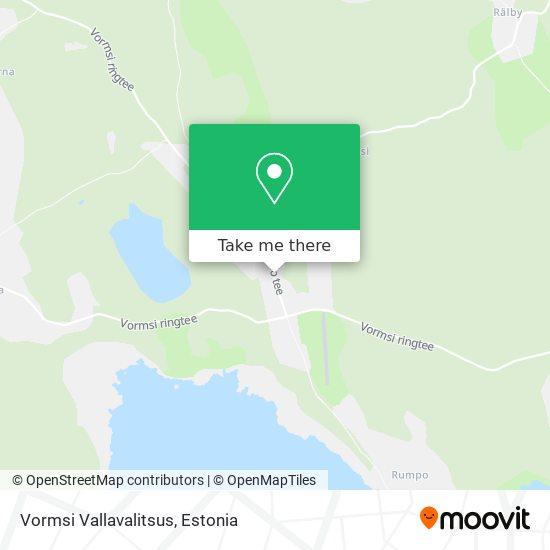 Карта Vormsi Vallavalitsus