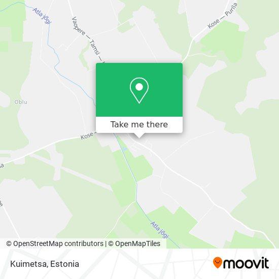 Карта Kuimetsa
