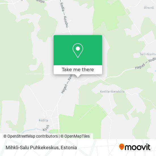 Карта Mihkli-Salu Puhkekeskus
