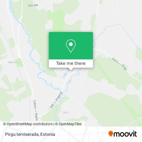 Карта Pirgu terviserada