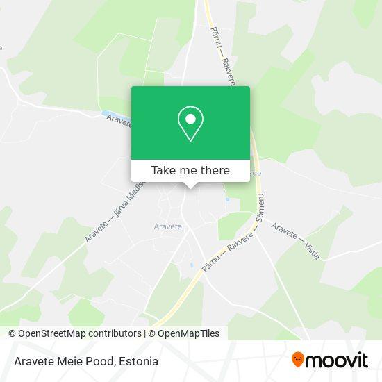 Карта Aravete Meie Pood