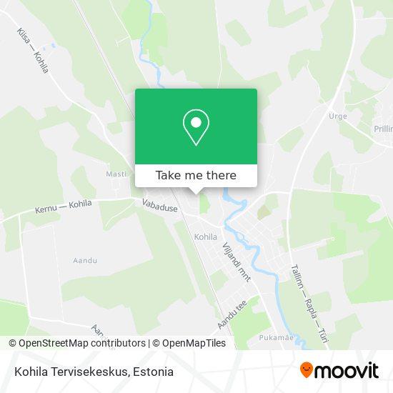 Карта Kohila Tervisekeskus