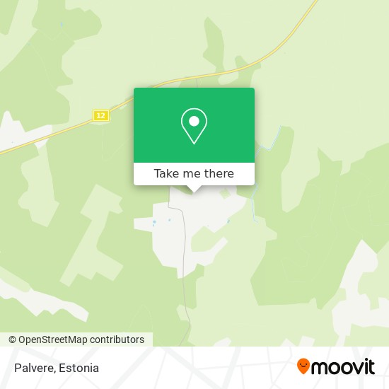 Карта Palvere
