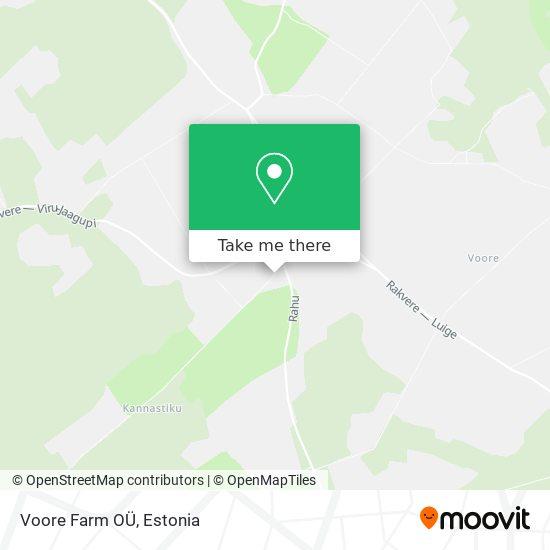 Карта Voore Farm OÜ