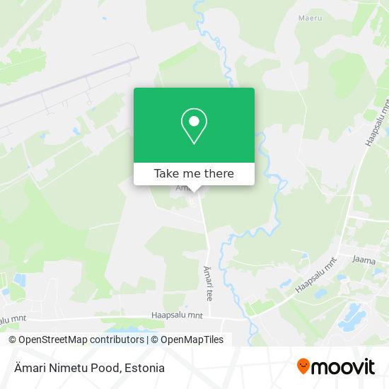 Карта Ämari Nimetu Pood