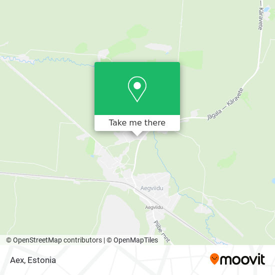 Карта Aex