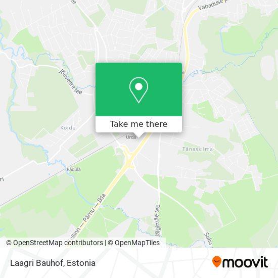 Карта Laagri Bauhof