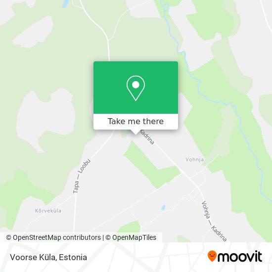 Карта Voorse Küla