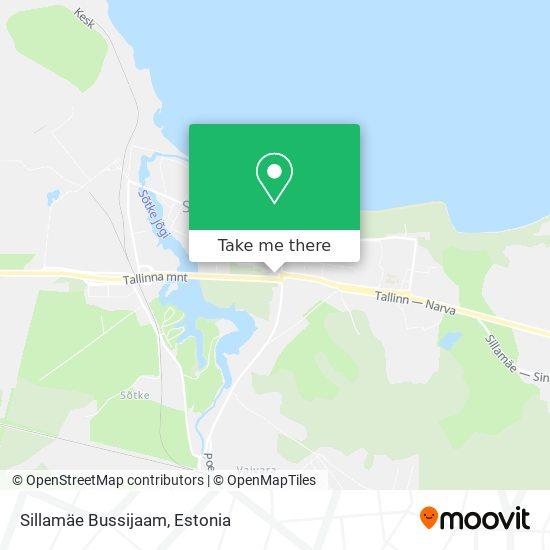 Карта Sillamäe Bussijaam