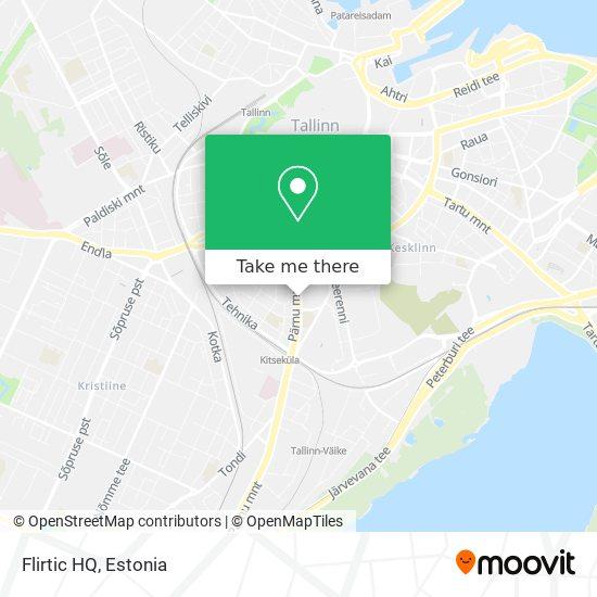 Flirtic HQ map