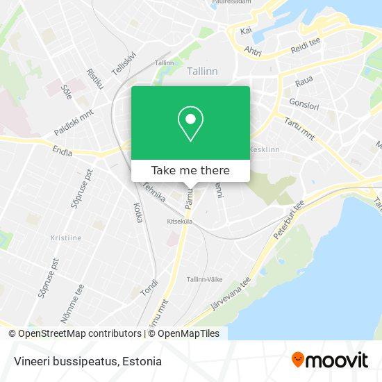 Vineeri bussipeatus map