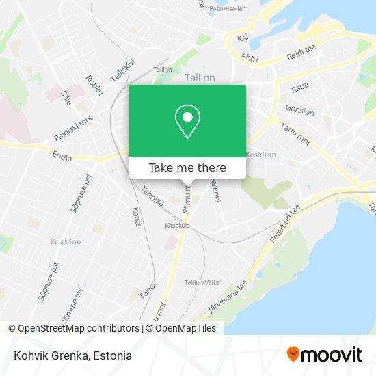 Kohvik Grenka map