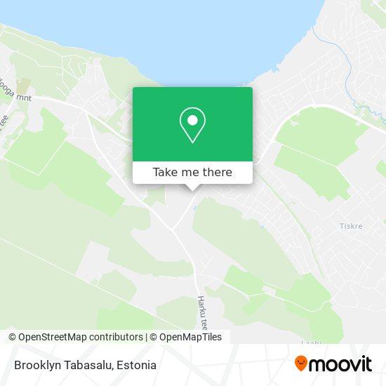 Brooklyn Tabasalu map