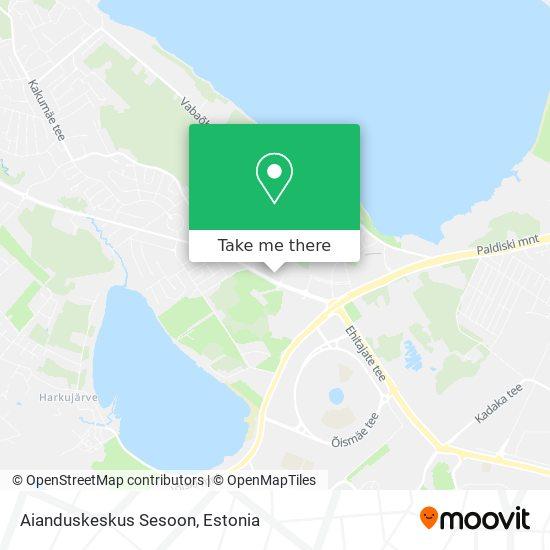 Aianduskeskus Sesoon map