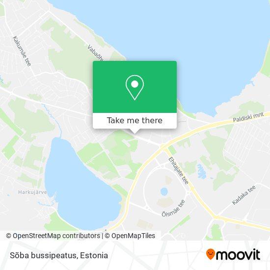 Sõba bussipeatus map