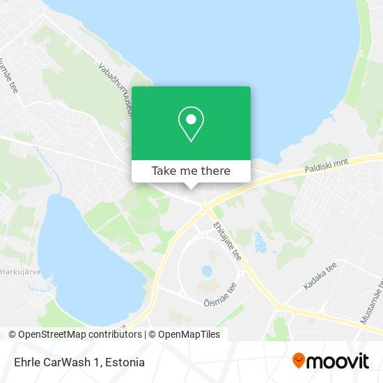 Ehrle CarWash 1 map