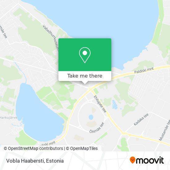 Vobla Haabersti map