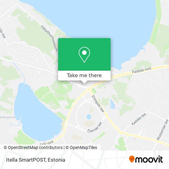 Itella SmartPOST map