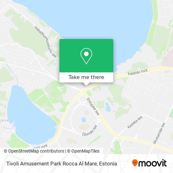 Tivoli Amusement Park Rocca Al Mare map