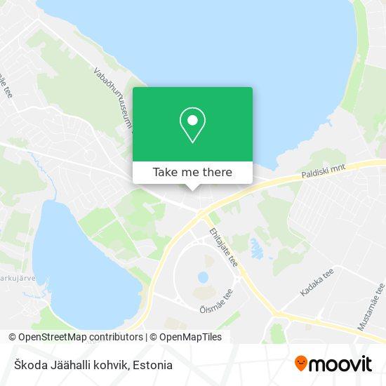 Škoda Jäähalli kohvik map
