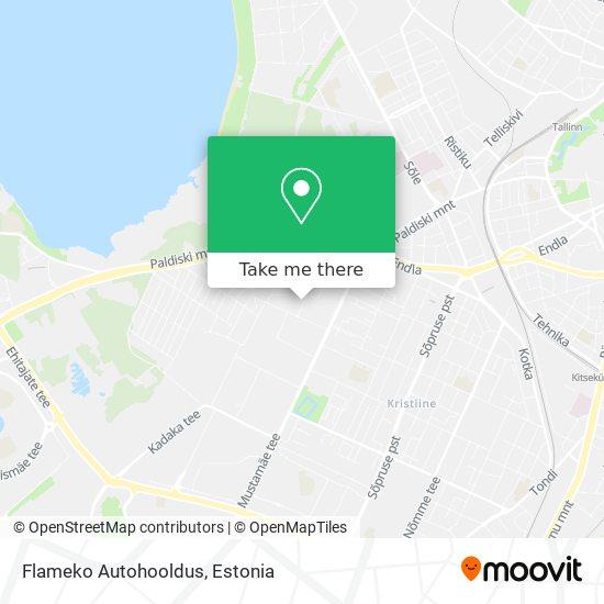 Flameko Autohooldus map